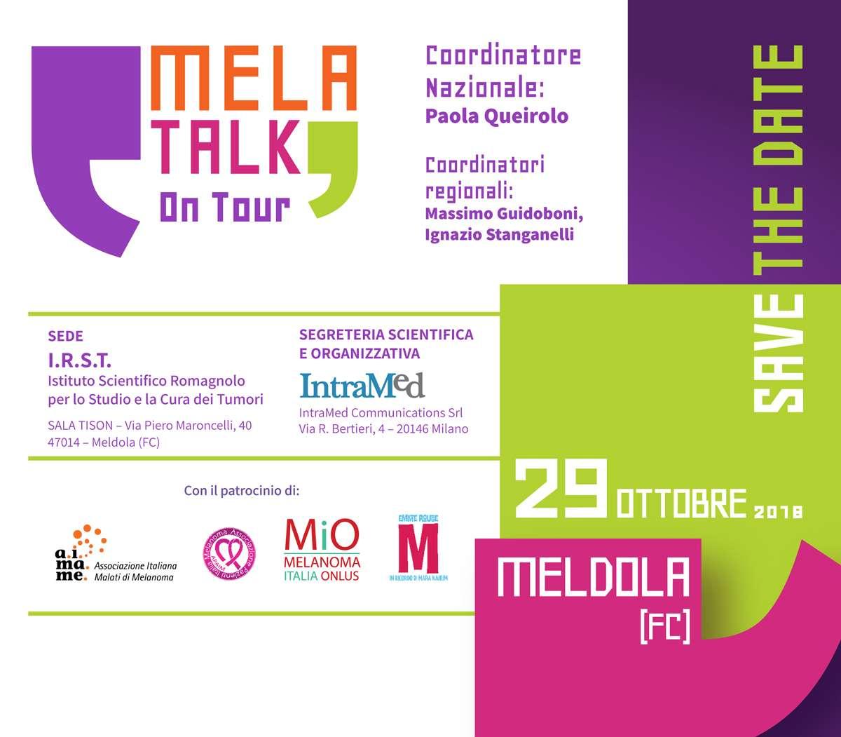 MELA TALK On Tour - Melanoma Italia Onlus