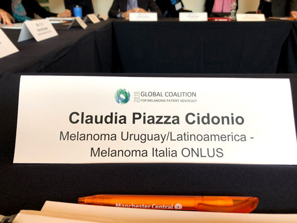 2018 Global Coalition Meeting for Melanoma Patient Advocates - 27/28 October | Manchester, UK