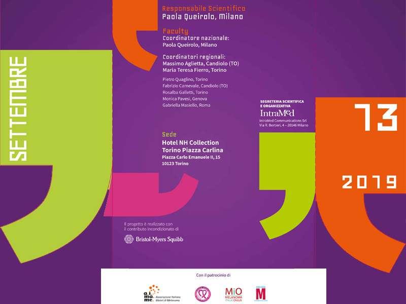 MELATALK - Torino, 13 Settembre 2019